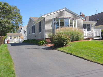 Photo for Beautifully decorated...Barefoot walk, just 7 houses to Popponesset Beach
