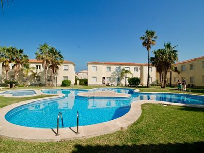 Photo for Sol - Great Apartment with Pool within 5 Star Oliva Nova Golf Resort