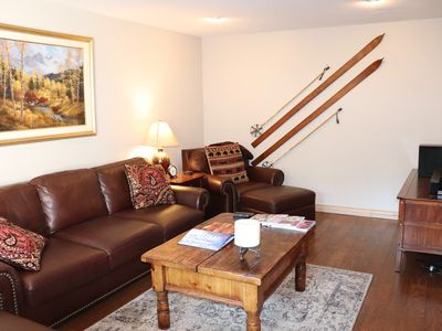 Photo for 2BD/2BA Vail Village Condo! Steps To Ski Lifts & Town, on Gore Creek, Sleeps 6