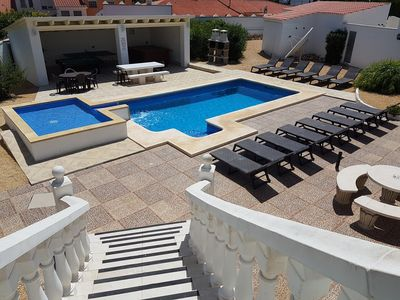 PARADISE VILLA  IN BENIDORM = JACUZZI POOL-TABLE TABLE-TENNIS GOLF FAMILY BEACH