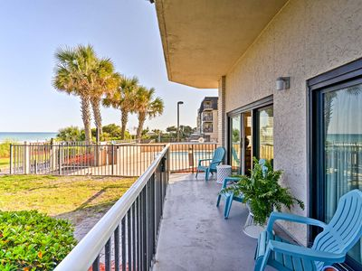Photo for Oceanfront Myrtle Beach Condo w/ Patio & Pools!