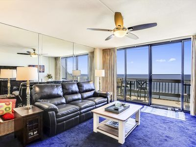 Photo for Stay Oceanfront in N. OCMD! Wi-Fi, Premium Cable, Indoor Pool & Gym!