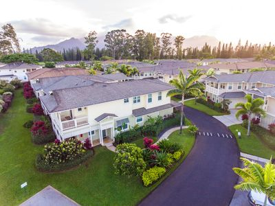 Photo for Princeville & Hanalei Family Resort Style with POOL, A/C, HOT TUB, BBQ, & GOLF