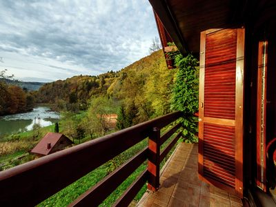 Photo for Holiday home in the countryside with magnificent view on the river Kupa valley