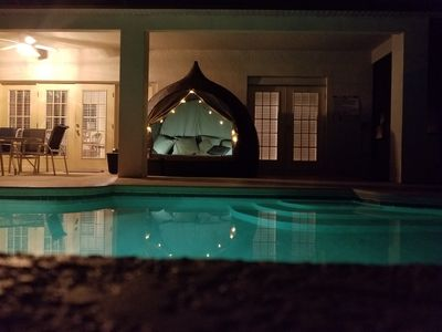 Photo for CLOSE to DISNEY -Private Steam rm/Game Rm, Theater, Pool/Heated Hot-Tub, Arcades