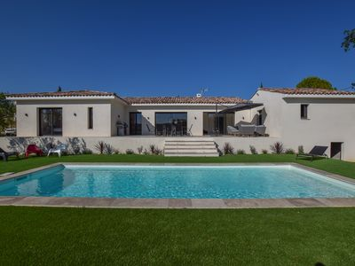 Photo for VILLA ON FOOT IN THE VILLAGE WITH SWIMMING POOL