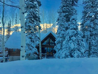 Photo for Custom Log Home in the Aspens of Telluride