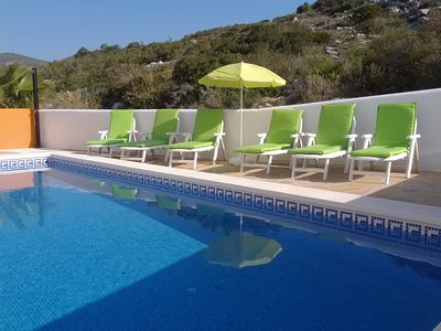 Photo for STUNNING VILLA WITH PRIVATE POOL, MOUNTAIN AND SEA VIEWS. GREAT LOCATIO