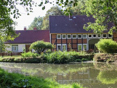 Photo for Holiday home in the Weser Highlands in a unique location with sunny terrace