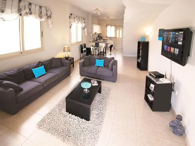 Photo for A Stunning Villa / Town House with Air Con, Pool & Private Gardens, WIFI & UK TV