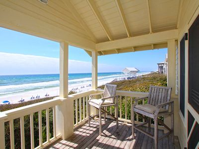Photo for Southern Exposure - Gulf Front 3 BR Gorgeous in SEASIDE
