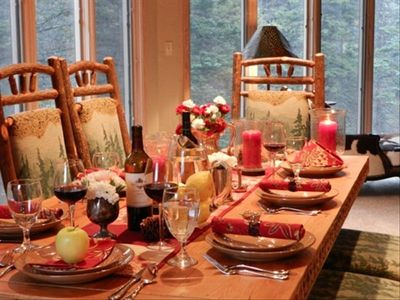 Spend Thanksgiving in one of Red River's finest luxury vacation rentals.