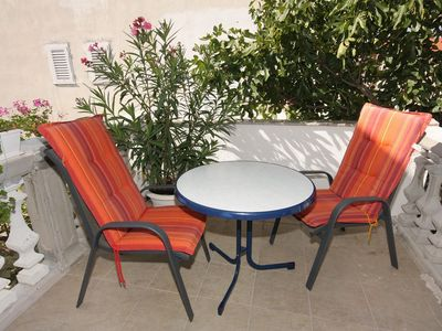 Photo for Studio flat with terrace Vodice (AS-2995-d)