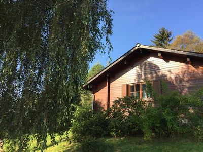 Photo for 'Haus Frei Wald', 6-person Norwegian log cabin Sauerland