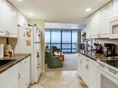 Photo for FREE DAILY ACTIVITIES! FREE WIFI!! GORGEOUS OCEANFRONT VIEW!! Adorable Unit With a Goregeous Oceanfront View!  New kitchen and bathrooms.