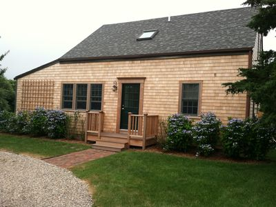 Photo for Classic Nantucket Cottage With A Farm View. Location, Location, Location
