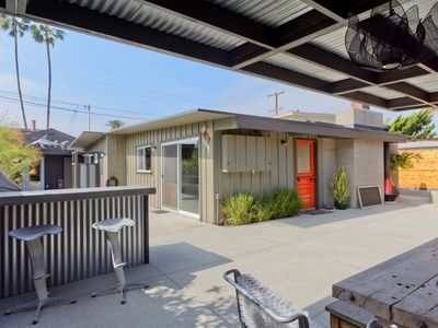 Photo for Private Entertainer's Delight in the heart of the beach colony area of Del Mar