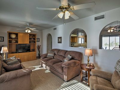 Photo for Charming Home-4 Mi to Lake Havasu & London Bridge!