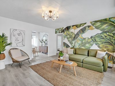 Photo for Green Suite 2BD / 2 BA Miami Beach Lincoln Villa