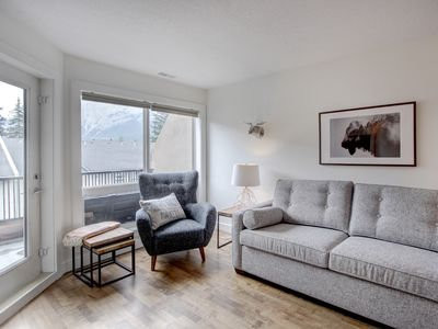 Photo for NEW! Mountain Luxury, Stunning 2 bedroom apartment