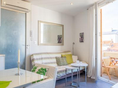 Photo for Tastefully decorated studio, located in a classic French property.