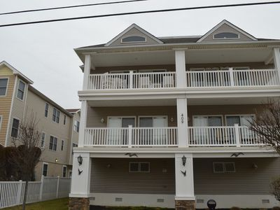 Photo for 1 BLOCK FROM THE BEACH!  Internet, TV's, Central A/C, Deck & More!