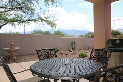 Great views from the patio!