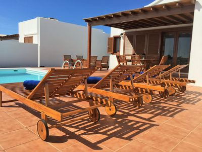 Photo for Villa Rocio with private heated pool, air conditioning, wifi, etc ...