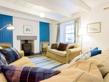 Saint Mawes, Cornwall, UK