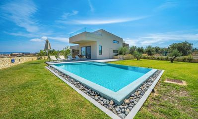 Photo for Villa Clio is a stunning, two-storey property with space for a group of four. As one of a pair of vi