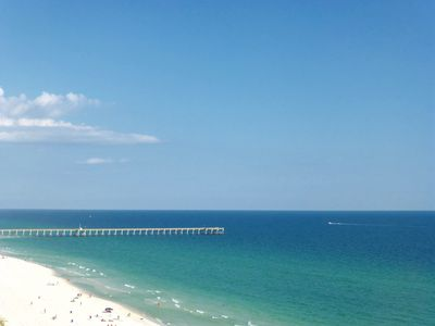 """Photo for """"Check Out This View"""" Beachy 1BR/1Bath Condo! Walk to Pier Park"""