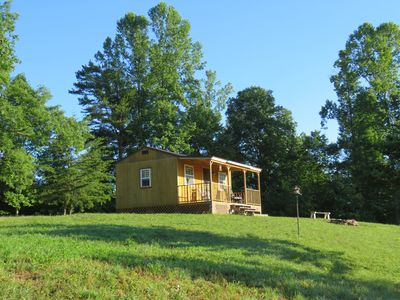 You will love the privacy that this lone cabin offers.