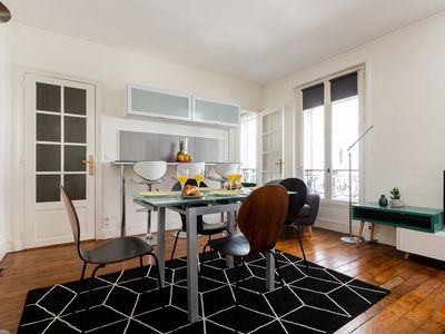 Photo for HEART OF THE LEFT BANK BY ST GERMAIN DES PRES AND MONTPARNASSE - LOVELY 1BR!