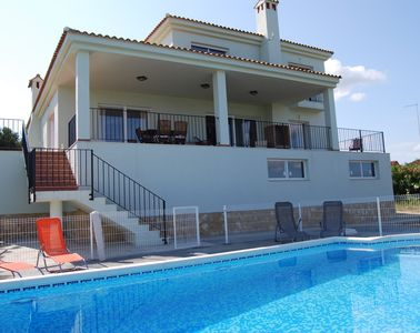 Photo for LUXURY VILLA, STUNNING VIEWS, PRIVATE POOL, AIR CON, SAT TV & WIFI - SLEEPS 8+1