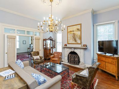 Photo for Historic 19th Century 4 BR/2 BA House just off Franklin Square - Huge Yard!
