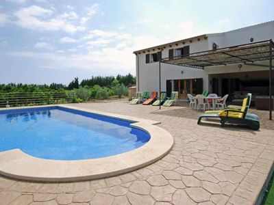 Photo for Rustic country house with pool near the sea for 6 people