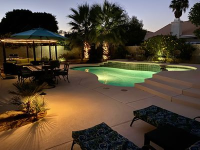 Photo for Private Desert Oasis In Palm Springs Area