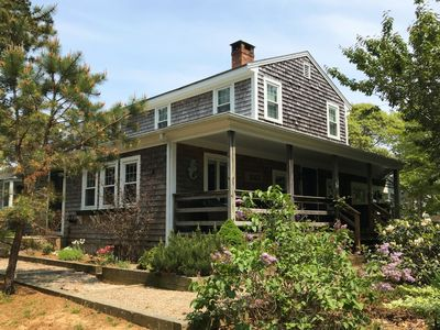 Photo for Spacious 4BD-- A/C, Game Room, Screened Porch, Walk to Herring Pond & Cape Cod Rail Trail