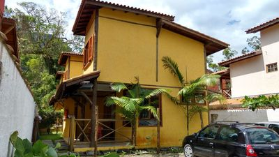 Photo for Casa Amarela / Sobrado with 2 suites with air conditioning (350 m from the sea)
