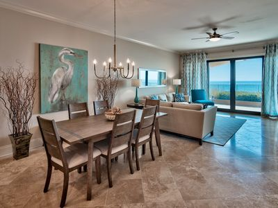 Photo for Luxury, Beachfront, First Floor Unit! Complimentary Beach Set Up! Large Balcony