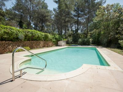 Photo for Provencal farmhouse nestled in the heart of a vast pine forest