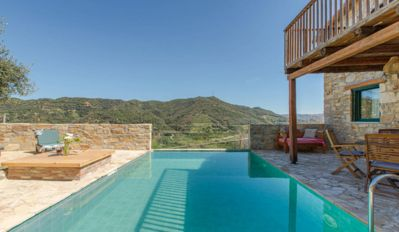 Photo for Stone house private heated pool off the beaten track