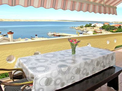 Photo for Apartment Porat ( PAG 132) in Pag/Pag - 6 persons, 3 bedrooms