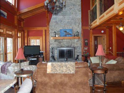 Lakefront Home Escape situated in quiet cove on Brant Lake