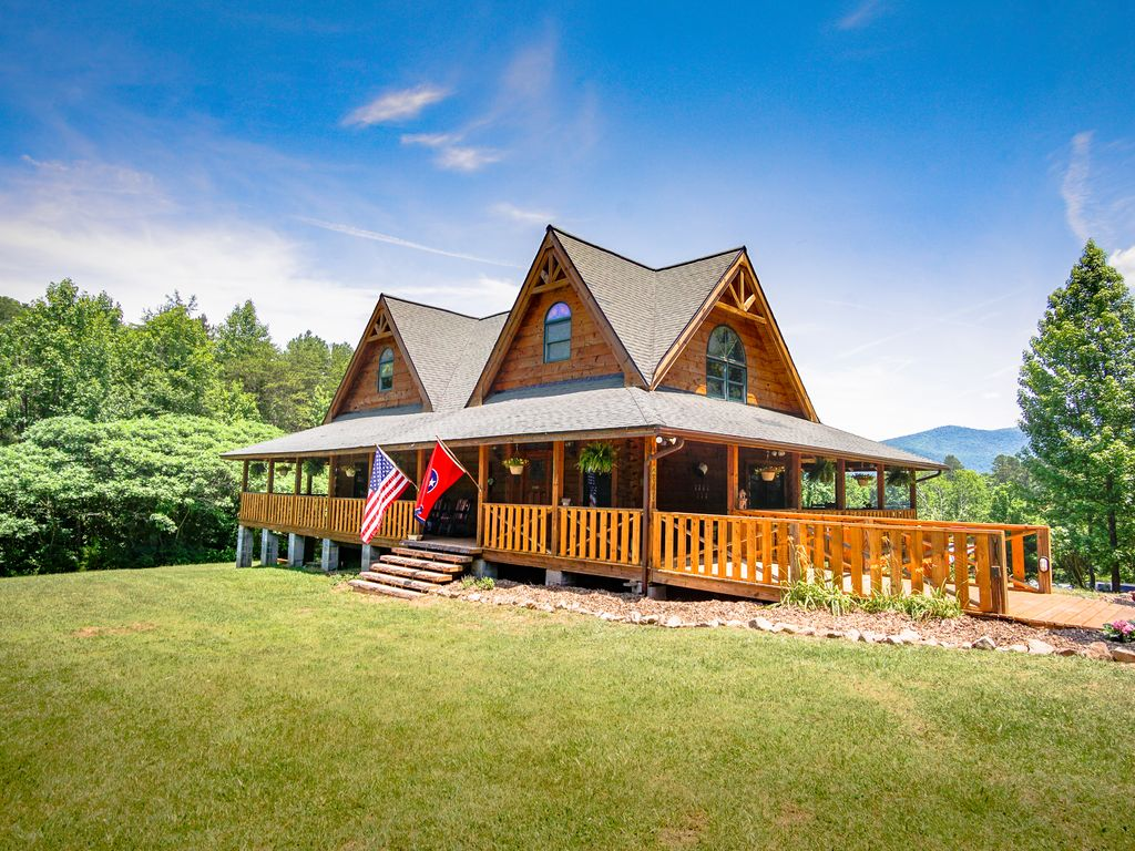 Sunrise Meadow Cabin Near Gatlinburg Time To Relax In The Smoky