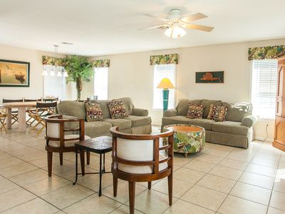 Photo for Anchor House w/ Sand Point's Restaurant, Pool/Hot Tub, Beach & Golf Cart Access
