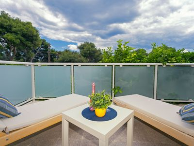 Photo for TERRACE APARTMENT SURROUNDED BY LEMON TREES