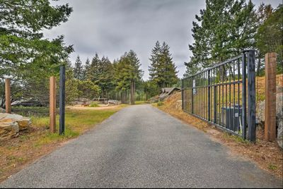 Main Electric Gate to The Ranch