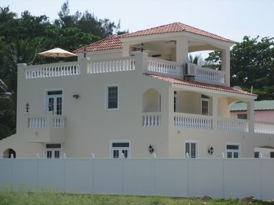 Photo for Villa Ocean Mist - Luxury Villa, Steps From Sandy Beach.