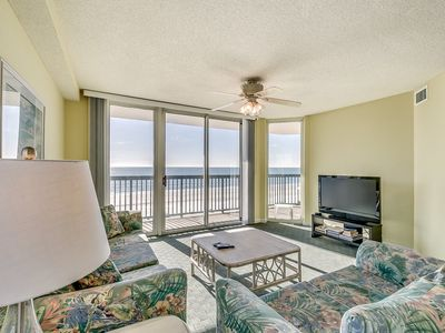 Photo for Clean 4th Floor, AshWorth, Oceanfront, Lazy River, Pools